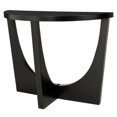 Modern Console Table Black from Target | FurnitureNear.Me