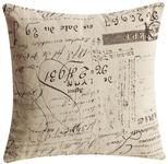 Throw Pillows Antique Calligraphy Accent Pillow